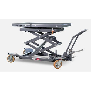 Aggregate lifting table foot-hydraulic,1000 kg