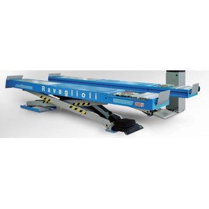 Scissor lift alignment & wheels free lift 3,5T, , Ravaglioli