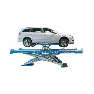 Scissor lift alignment + wheels free 5T, Ravaglioli