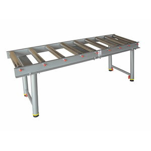 Flexible roller table with 9 rollers, Holzmann