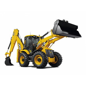 Rent, backhoe, 1h, JCB