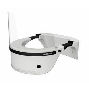 Wearable UV air purifier, white W