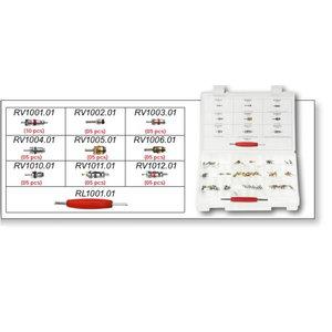 AC sistemų ventilių kompl. 51 vnt., SUPERCOOL