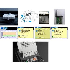 Konditsioneeri efektiivsuse tester Konfort seeriale TEXA, Texa