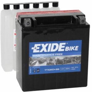 Battery AGM 18Ah YTX20CH-BS 150x87x161 +-, Exide