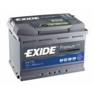аккумулятор для запуска  PREMIUM 60 Ач 600A 242 синяя175 синяя175--, EXIDE