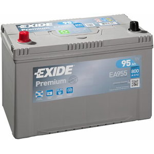 Akumulators PREMIUM 95Ah800A 306x173x222+-, Exide