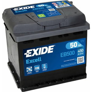 Käivitusaku EXCELL 50Ah 450A 207x175x190-+