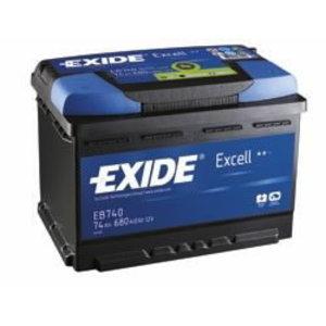 аккумулятор для запуска EXCELL 60Ah 390A 230x172x220-+ (для японских автомобилей), EXIDE