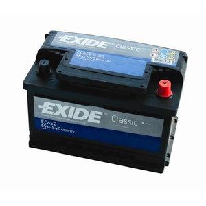 аккумулятор для запуска CLASSIC 65Ah 540A 278x175x175-+, EXIDE
