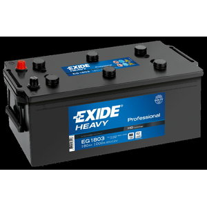 Heavy Duty Professional käivitusaku  180 Ач 1000A S106-EG1803, EXIDE