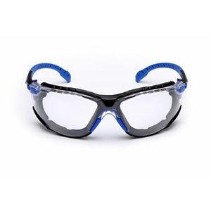 Kaitseprillid Solus kirgas Scotchgard, komplekt, sinine/must, 3M