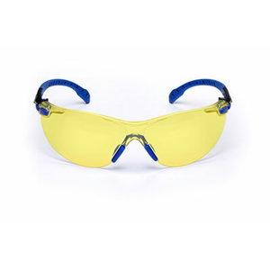 Protective glasses transparent Solus blue/black PC amber, 3M