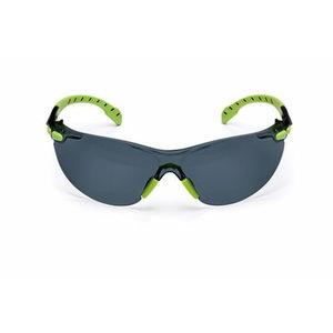 Kaitseprillid Solus hall Scotchgard klaas, roheline/must UU003718549, 3M