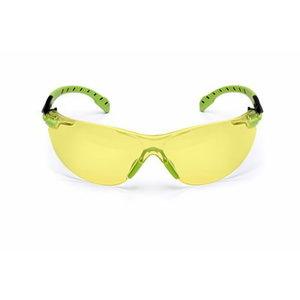 Protective glasses transparent green/black PC amber UU003718556, 3M
