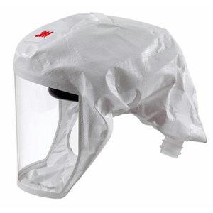 3M S-133L Head protection hood white M/L 52000045824, 3M