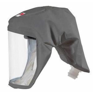 Kapuce S-333LG ar PVC masku S-333LG, 3M