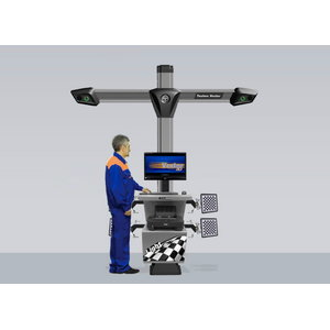 3D ratų suvedimo stendas  7 S 7212 T5A 2 kamerų, Techno Vector
