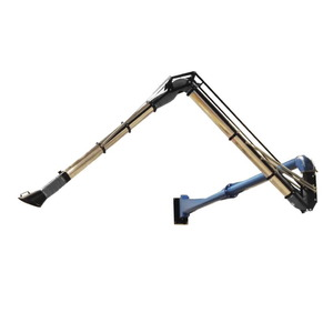 SELF SUPPORTING ARM D=160 4+5 = 8m - 300C, WITH FLEX JOINT