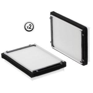 Kabiini õhufilter, väike (paar)   L155288; AL214634, Hifi Filter