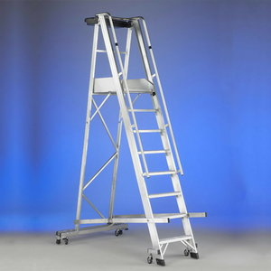 Mobile stocker`s ladder CASTELLANA 4WD 9 steps, Svelt
