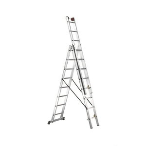 Combination ladder E 3 3x14 steps, Svelt