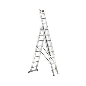 Combination ladder E 3 3x16 steps, Svelt