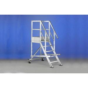 Mobile stocker's ladder TORRETTA 9 steps, Svelt