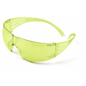 Apsauginiai akiniai SecureFit 200, PC, geltoni AS/AF, 3M