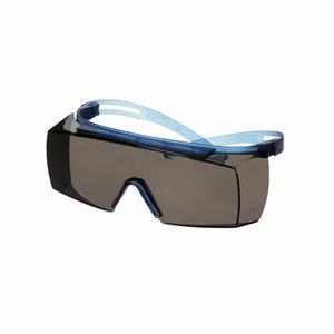 Kaitseprillid optiliste prillide peale, SGAF K+N, hall klaas SF3702SGAF-BLU, 3M
