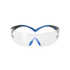 Caurspīdīgas aizsargbrilles 3M™ SecureFit400 Scotchgard K+N SF401SGAF-BLU, 3M