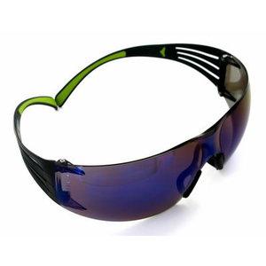 Aizsargbrilles ar zilu spoguļvirsmu AS 3M™ SecureFit 400 UU001467875, 3M