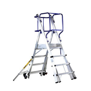 Mobile stocker`s ladder TELEFLY 6 steps, Svelt