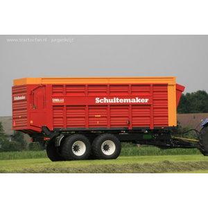 Silage Trailer  SIWA 660 S, 48 m3, Schuitemaker