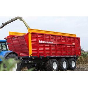 Silage Trailer  SIWA 840 S, 58 m3, Schuitemaker