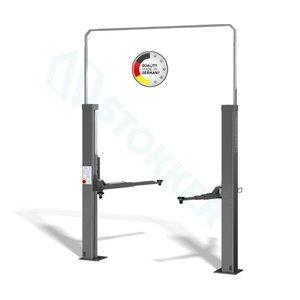 2-post lift 2.30 SL DT, el.synchr, E-set RAL5001, Nussbaum