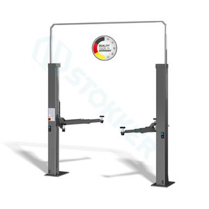 2-post lift 2.40 SL UNIVERSAL with E-Set RAL5001, Nussbaum