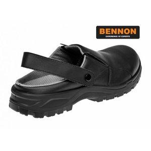 Sandals clogs Slipper, OB E A SRC FO, black, Bennon