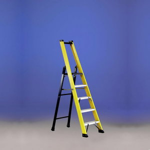 Stepladder SMART 1 fibreglass platform 10 tread, Svelt
