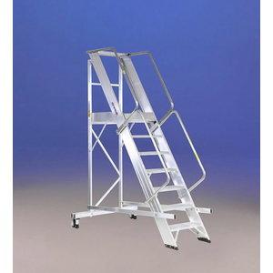 Mobile stocker`s ladder CASTELLANA MAXI 4WD 12 steps, Svelt