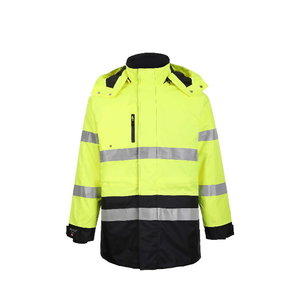 Hi.vis winterjacket Montreal yellow/navy S, Pesso
