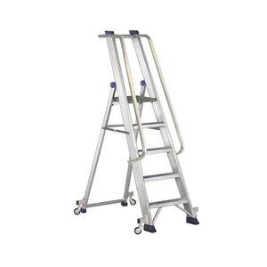Platform ladder REGINA VIP 4WD 6 steps, Svelt