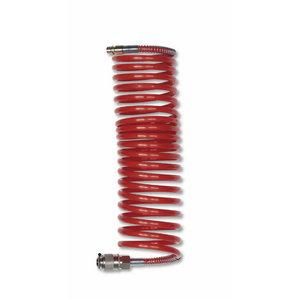 Пневматический спиральный шланг 8 мм/10 м 10 бар, GAV