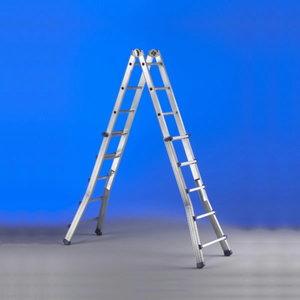 Multi purpose telescope ladder SCALISSIMA PLUS 10+10  steps, Svelt
