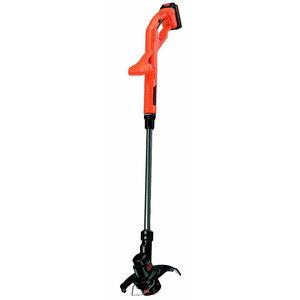 Cordless trimmer ST1823 /18 V / 1,5 Ah / 23 cm, Black+Decker