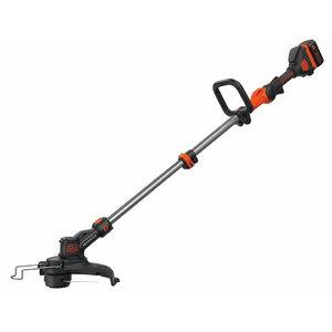 Cordless trimmer STB3620L / 36 V / 2 Ah / 33 cm / brushless, Black+Decker