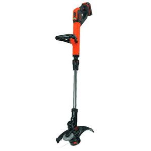 Cordless trimmer STC1820EPC / 18 V / 2 Ah / 28 cm, Black+Decker