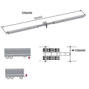 Wheel aligner adapter STDA49N for trailers, Ravaglioli