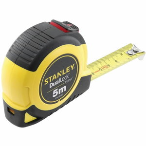 Tape measure 5m x 19mm Class II DUAL LOCK autolock, Stanley