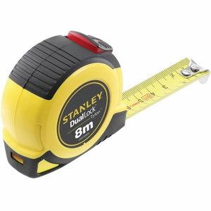 Tape measure 8m x 25mm Class II DUAL LOCK autolock, Stanley